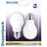 Doppelpackung 2er Sparset CorePro LEDbulb / Birne 6W = 40 Watt, 470 Lumen 2700K warmweiss Philips®
