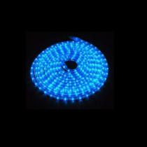 LED Lichtschlauch blau Meterware, Wunschlänge, Anschlussfertig inkl. Netzstecker