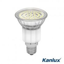 LED Strahler E14 60 SMD LEDs 3,3 Watt = 260 Lumen, warmweiss (3000K), 120° Abstrahlwinkel