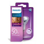 GU10 LED dimmbar 5,5W = 50W warmweiss dimmbar - helle GU10 LED von Philips® mit 2 Jahren Garantie