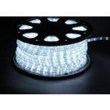 LED Lichtschlauch weiss, kaltweiss - Wunschlänge 2-50m - Anschlussfertig inkl. Netzstecker 230V - IP44