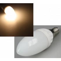 LED Kerze E14 3 Watt = 220 Lumen, warmweiss 3000 Kelvin, matt