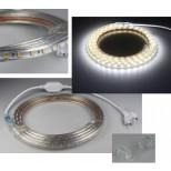 "LED-Stripe ""Ultra-Bright"" 230V, 10m, 630 Lumen/Meter, weiß"
