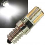 LED Lampe E14, 72 SMD LEDs, 4000k, 200lm, 300°, 230V/3W, weiß
