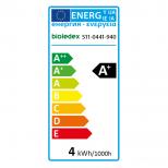 Bioledex® LED Strahler MR11 / GU4 12V mit 4W = 320 Lumen, warmweiss 3000K Modell HELSO