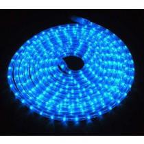 LED Lichtschlauch BLAU - 10 Meter lang, 2,5 Watt = 36 LEDs pro Meter, kürzbar & dimmbar