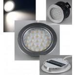 LED Wandeinbaustrahler 12V weiss, 180 Lumen für Hohlwanddosen geeignet