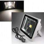 LED Fluter, LED Scheinwerfer 50W Watt = 4000 Lumen, IP44, 25.000h, tageslicht 4000K