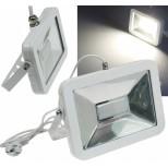 LED Fluter, Strahler SlimLine CTF-SL50W 50W, IP44, 3800 Lumen, 4200K, neutralweiß, Fluter Chilitec® Germany