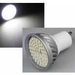 High Lumen LED Strahler 5W, Leuchtmittel GU10 weiss 5W = 400 Lumen!