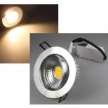 LED Einbaustrahler, Einbauleuchte 7 Watt warmweiss, schwenkbar