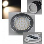 LED Wandeinbaustrahler 12V warmweiß, 180 Lumen für Hohlwanddosen geeignet