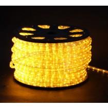 LED Lichtschlauch gelb - Wunschlänge - Anschlussfertig inkl. Netzstecker 230V