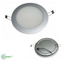 LED Panel 16W = 1260 Lumen Ultraslim Rund Milchglas 5500K WEISS, Bioledex®