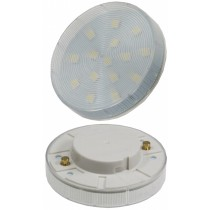 "LED Leuchtmittel GX53 ""XH 25"" weiß, 3W, 240lm, Ø75x25mm, 120°, 4000k"
