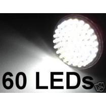 LED-Strahler in MR16 / GU5,3 Bauform, 12 Volt 60 LEDs, 6.500K, 260 Lumen