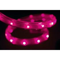 25m RGB LED Strip kürzbar, mit 150cm Anschlusskabel und 8 Farbwechselfunktionen IP44 für Innen- und Aussen