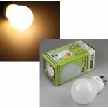 "LED Glühlampe E27 ""G30"" warmweiß, 3W, 250lm, warmweiß"
