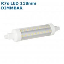 Sehr helle R7s LED Lampe / Stab 17W = 1600 Lumen, warmweiss 2700K, 360° rundum, GreenLED® 3521