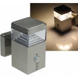 "LED Wandleuchte ""CTBW-75 PIR"", warmweiss,3000K, 30 LEDs, 450lm, 230V/8W"