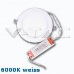 LED Panel 15W = 1350 Lumen weiss 6000K, rund mit SAMSUNG® LED Chip und Netzteil (auch dimmbar)