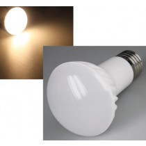 LED Strahler R63 E27 6 Watt = 510 Lumen, warmweiss 2900K, 160° Winkel