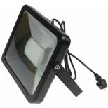 80W LED Fluter, Strahler SlimLine CTF-SL80B IP44, 5400 Lumen, 3000K, warmweiss, Fluter Chilitec® Germany