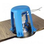 Abstandshalter für Halogen & LED Einbauleuchten Einbaurahmen in Hohldecken Abstand für Dämmung, Hitzeschutz, Brandschutz