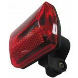 Jogger-Licht mit 5 roten LEDs, mit Gürtelclip