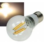 Filament LED Glühbirne E27 mit 4W = 360 Lumen, warmweiss 360° Abstrahlwinkel wie Glühbirne