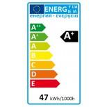 Extrem helle E40 LED Lampe, Birne als Ersatz für E 40 HQI & HQL Strahler 47W = 4600 Lumen