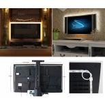 RGB LED Stripe TV Set speziell für TV Backlight 4x 50cm RGB LED Band - USB mit Fernbedienung & Verbinder
