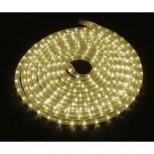LED Lichtschlauch warmweiss, kürzbar, Wunschlänge 2-50m Anschlussfertig inkl. Netzstecker 230V IP44