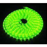 LED Lichtschlauch grün - Wunschlänge, Meterware - Anschlussfertig inkl. 230V Netzstecker IP44
