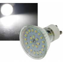 "LED Strahler GU10 ""H55 SMD"", 120°, 4000k, 420lm, 230V/5W, neutralweiß"