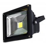 50W Watt LED Fluter warmweiss (2700-3200K) - 3250 Lumen, Alugehäuse (rostfrei) & IP65