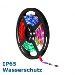 500cm RGB LED-Strip LED Band IP65 mit Power LEDs, dimmbar, teilbar, Wasserschutz IP65