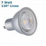 Helles LED Leuchtmittel, Strahler 7 Watt = 570 Lumen GU10 230V warmweiss / weiss / neutralweiss 120 Grad, PRO GU10 LED Marke Kanlux