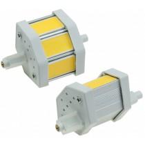 """LED Strahler R7s """"COB5-DL"""", 3 COB-LEDs, 4500k, 380lm, 78mm, dimmbar, tageslicht"""