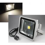 LED Fluter, LED Scheinwerfer 30 Watt = 2400 Lumen, IP44, 4000K, 40.000h, tageslicht