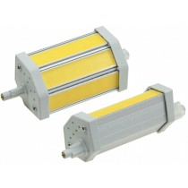 """LED Strahler R7s """"COB8-DL"""", 3 COB-LEDs, 4500k, 660lm, 118mm, dimmbar, tageslicht"""