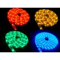 WUNSCHLÄNGE | RGB LED-Strip 12V, RGB LED Band 10cm - 500cm, Innenbereich IP20
