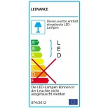 Osram Ledvance LED Fluter, LED Floodlight 20W = 2000Lm Flutlicht Gehäusefarbe weiss - 3000K warmweiss