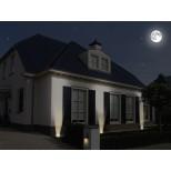LED Bodeneinbaustrahler, Einbauleuchte quadratisch mit 3 Watt GU10 LED - IP65 Modell Luton Marke ranex®