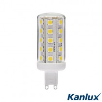 G9 / GU9 LED Leuchtmittel 4 Watt = 400 Lumen warmweiss Marke KANLUX®