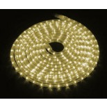 LED Lichtschlauch 20M warmweiss mit je 36 LEDs pro Meter, 50 Watt Leistung mit Kabel & Stecker