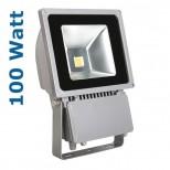 100 Watt LED Strahler / Fluter IP65 mit Alugehäuse & stossfestem Schutzglas - Markenqualität von Kanlux®