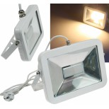LED Fluter, Strahler SlimLine CTF-SL50W 50W, IP44, 3600 Lumen, 3000K, warmweiß, Fluter Chilitec® Germany