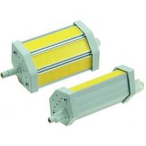 "LED Strahler R7s ""COB8-WW"", 3 COB-LEDs, 2900k, 630lm, 118mm, dimmbar, warmweiß"