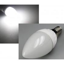 "LED Kerzenlampe E14 ""K50"" weiß, 6000k, 420lm, 230V/5W"
